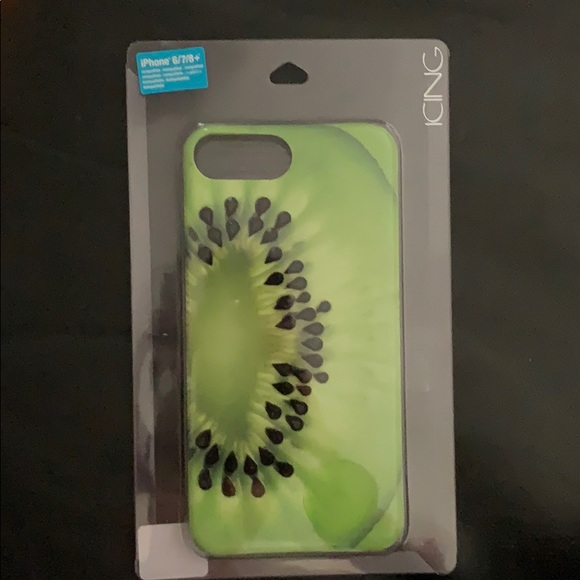 Icing Accessories - New iPhone Case.  Kiwi.  Size 6,7 or 8 Plus